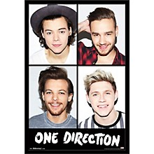 Trends International One Direction - Grid Poster