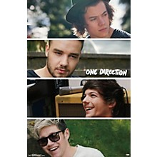 Trends International One Direction - Group Collage Poster