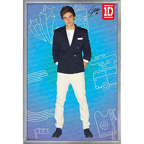 Trends International One Direction - Liam Pop Poster Framed Silver