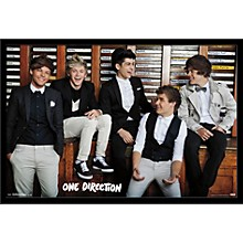 One Direction - Style Poster Framed Black