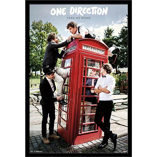 Trends International One Direction - Take Me Home Poster Framed Black