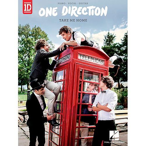 Hal Leonard One Direction - Take Me Home for Piano/Vocal/Guitar