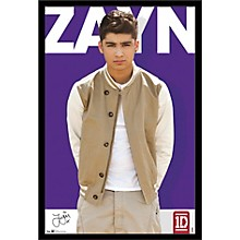 One Direction - Zayne Malik Poster Framed Black