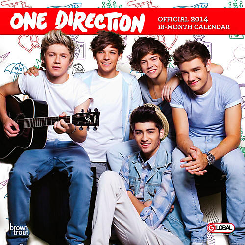 Browntrout Publishing One Direction 2014 Calendar Square 12x12