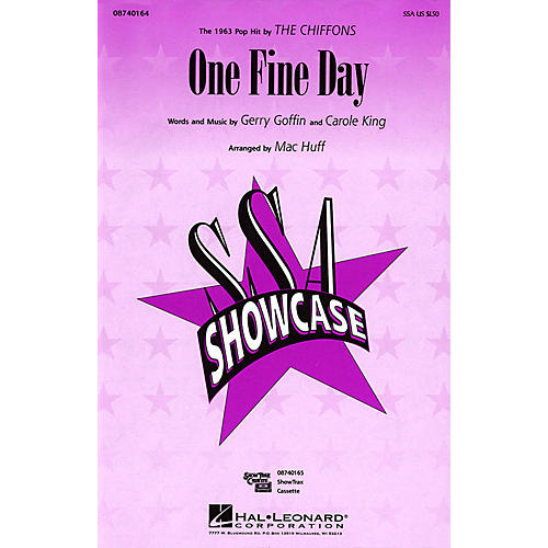 Hal Leonard One Fine Day ShowTrax CD by The Chiffons Arranged by Mac Huff