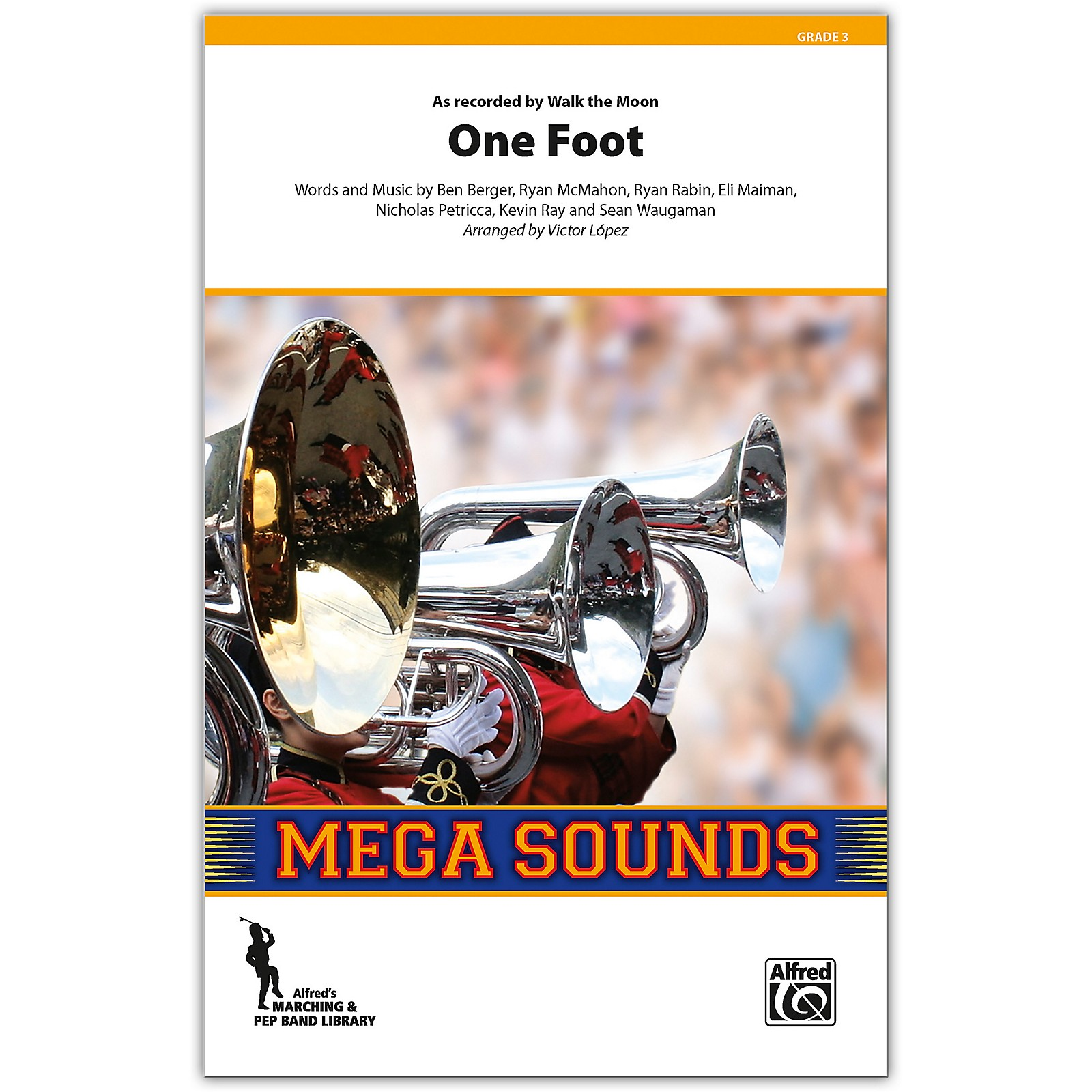 Alfred One Foot Conductor Score 3 (Medium)