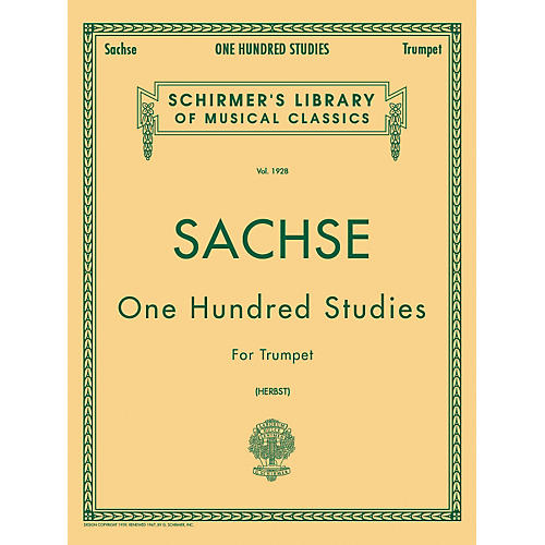 G. Schirmer One Hundred Studies Trumpet