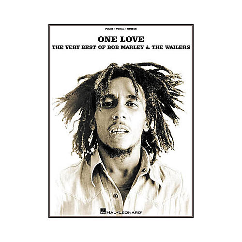 Hal Leonard One Love - The Very Best of Bob Marley and The Wailers Piano/Vocal/Guitar Artist Songbook