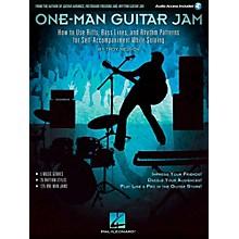 Hal Leonard One-Man Guitar Jam Book with Online Audio