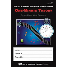 KJOS One Minute Theory Student Edition