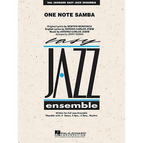 Hal Leonard One Note Samba Jazz Band Level 2 Arranged by Jerry Nowak