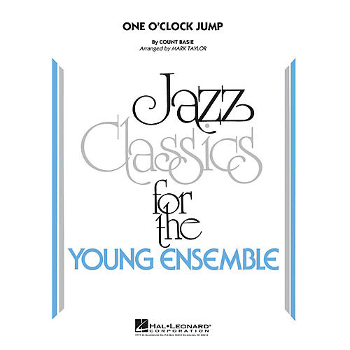 Hal Leonard One O'Clock Jump Jazz Band Level 3 by Count Basie Arranged by Mark Taylor