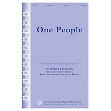 Hal Leonard One People SATB arranged by Steve Miller