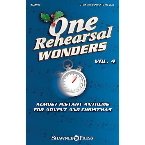 Shawnee Press One Rehearsal Wonders, Vol. 4 - Advent and Christmas Studiotrax CD Arranged by Various