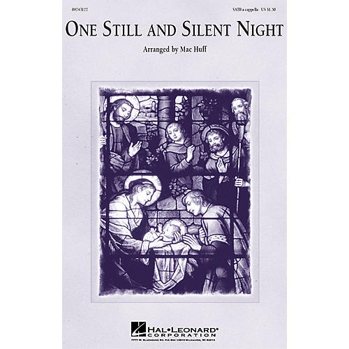 Hal Leonard One Still and Silent Night (SSAA a cappella) SSAA A Cappella Arranged by Mac Huff