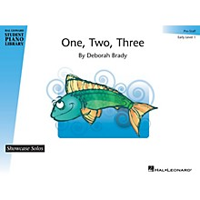 Hal Leonard One, Two, Three Piano Library Series by Deborah Brady (Level Early Elem (Pre-Staff))