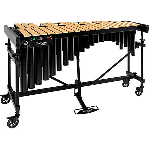 Marimba One One Vibe 3 Octave Vibraphone A442 Gold Bars Concert Frame with Motor