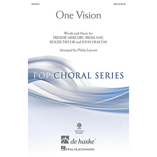 De Haske Music One Vision (ShowTrax CD) ShowTrax CD Arranged by Philip Lawson