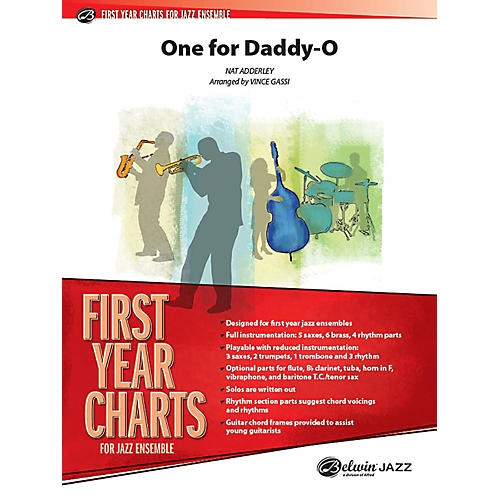Alfred One for Daddy-O Jazz Band Grade 1 Set
