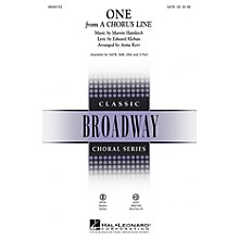 Hal Leonard One (from A Chorus Line) SATB arranged by Anita Kerr