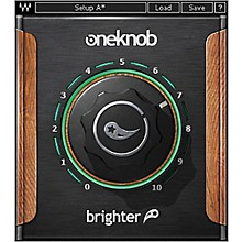 Waves OneKnob Brighter Native/SG Software Download