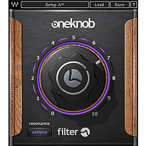 Waves OneKnob Filter Native/SG Software Download