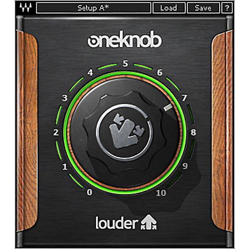 Waves OneKnob Louder Native/SG Software Download