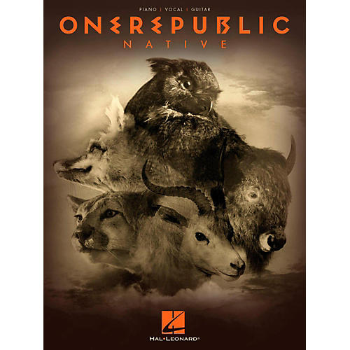Hal Leonard OneRepublic - Native Piano/Vocal/Guitar