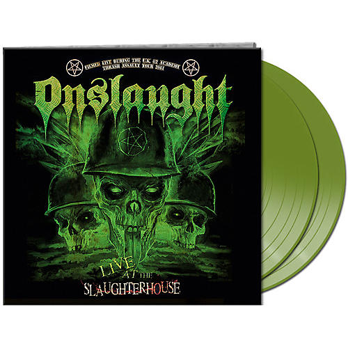 Alliance Onslaught - Live At The Slaughterhouse (green Vinyl)