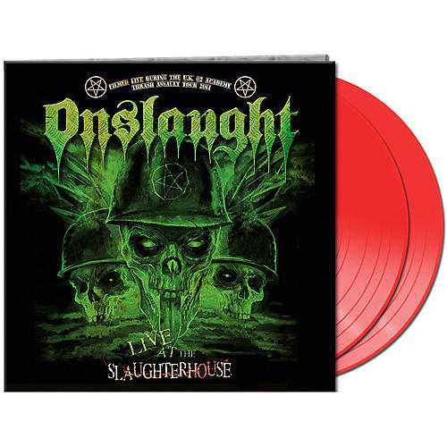 Alliance Onslaught - Live At The Slaughterhouse (red Vinyl)