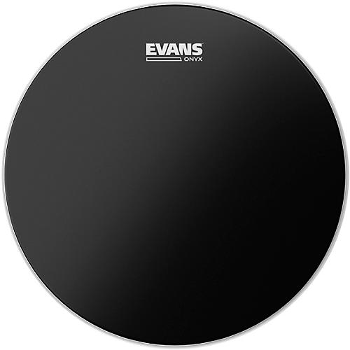 open box evans onyx 2 ply drum head 18 in musician 39 s friend. Black Bedroom Furniture Sets. Home Design Ideas
