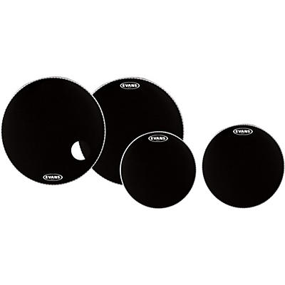 "Evans Onyx Heads, Buy 3 Get a Free 14"" SD Head, 22"", 22"", 12"""