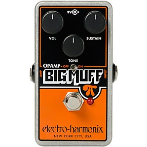 electro harmonix op amp big muff pi fuzz effects pedal musician 39 s friend. Black Bedroom Furniture Sets. Home Design Ideas