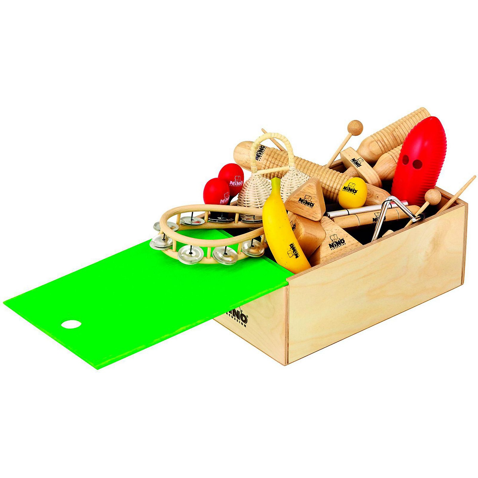 Open Box Nino 15-Piece Rhythm Assortment with Box