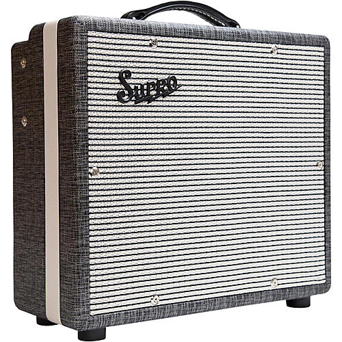 Open Box Supro 1600 Supreme 25W 1x10 Tube Guitar Combo Amp