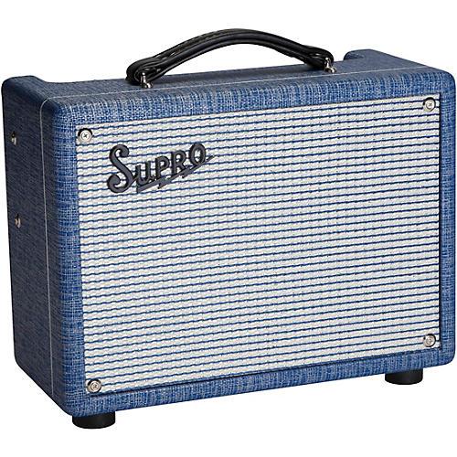Open Box Supro 1606 Super 5W 1x8 Tube Guitar Combo Amplifier