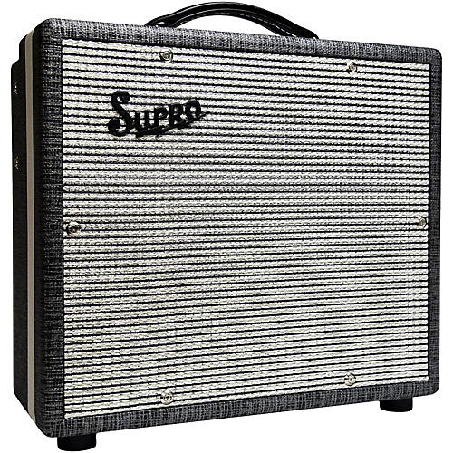 Open Box Supro 1610RT Comet 6/14W 1x10 Tube Guitar Combo Amp