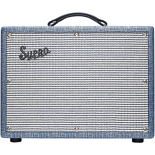 Open Box Supro 1622RT Tremo-Verb 25W 1x10 Tube Guitar Combo Amp