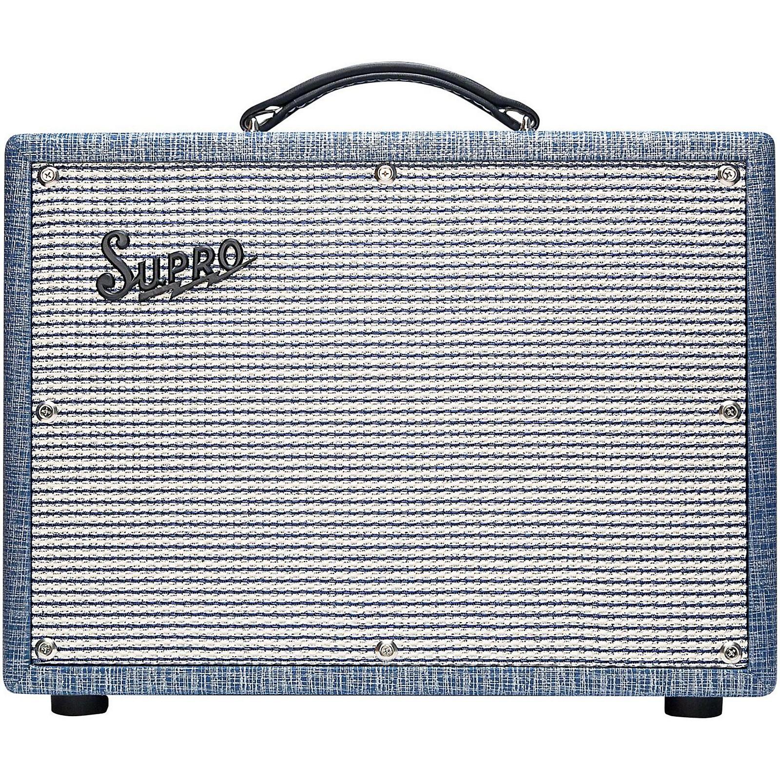 Open Box Supro 1622RT Tremo-Verb 25W 1x10 Tube Guitar Combo Amp