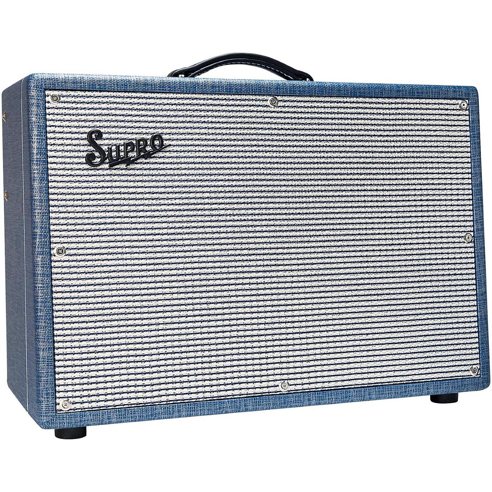 Open Box Supro 1624T Dual-Tone 24W 1x12 Tube Guitar Combo Amp