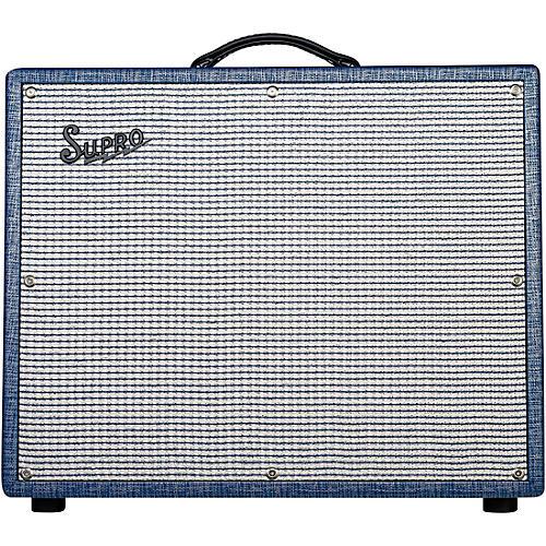 Open Box Supro 1675RT Rhythm Master 35/45/60W 1x15 Tube Guitar Combo Amp