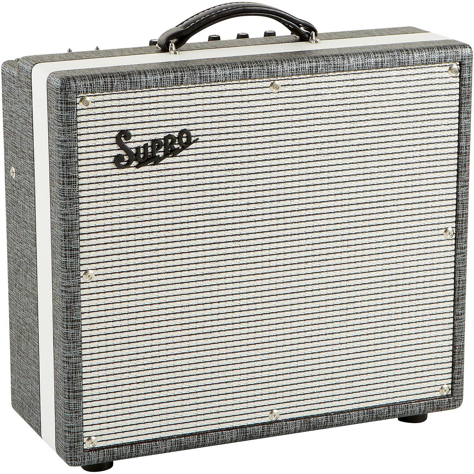 Open Box Supro 1695T Black Magick 25W 1x12 Tube Guitar Combo Amp