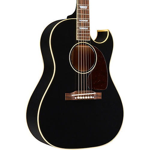 Open Box Gibson 1950's CF-100 Ebony Limited Edition Acoustic-Electric Guitar