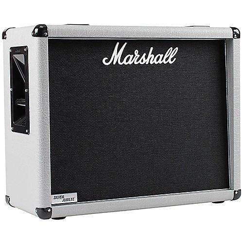 Open Box Marshall 2536 140W 2x12 Silver Jubilee Guitar Amplifier Cabinet