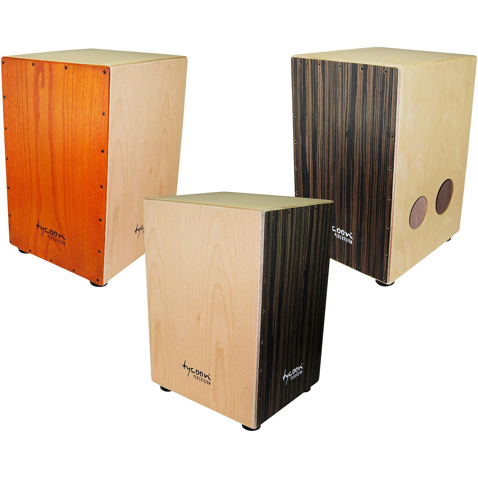 Open Box Tycoon Percussion 29 Series Triple-Play Cajon