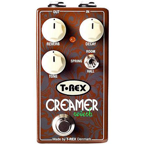Open Box T-Rex Engineering 3-Mode Reverb Guitar Effects Pedal