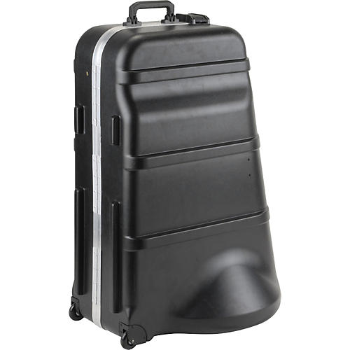 Open Box SKB 385W Mid-Size Universal Tuba Case with Wheels