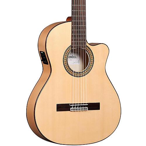 Open Box Alhambra 3F CT Flamenco Acoustic-Electric Guitar