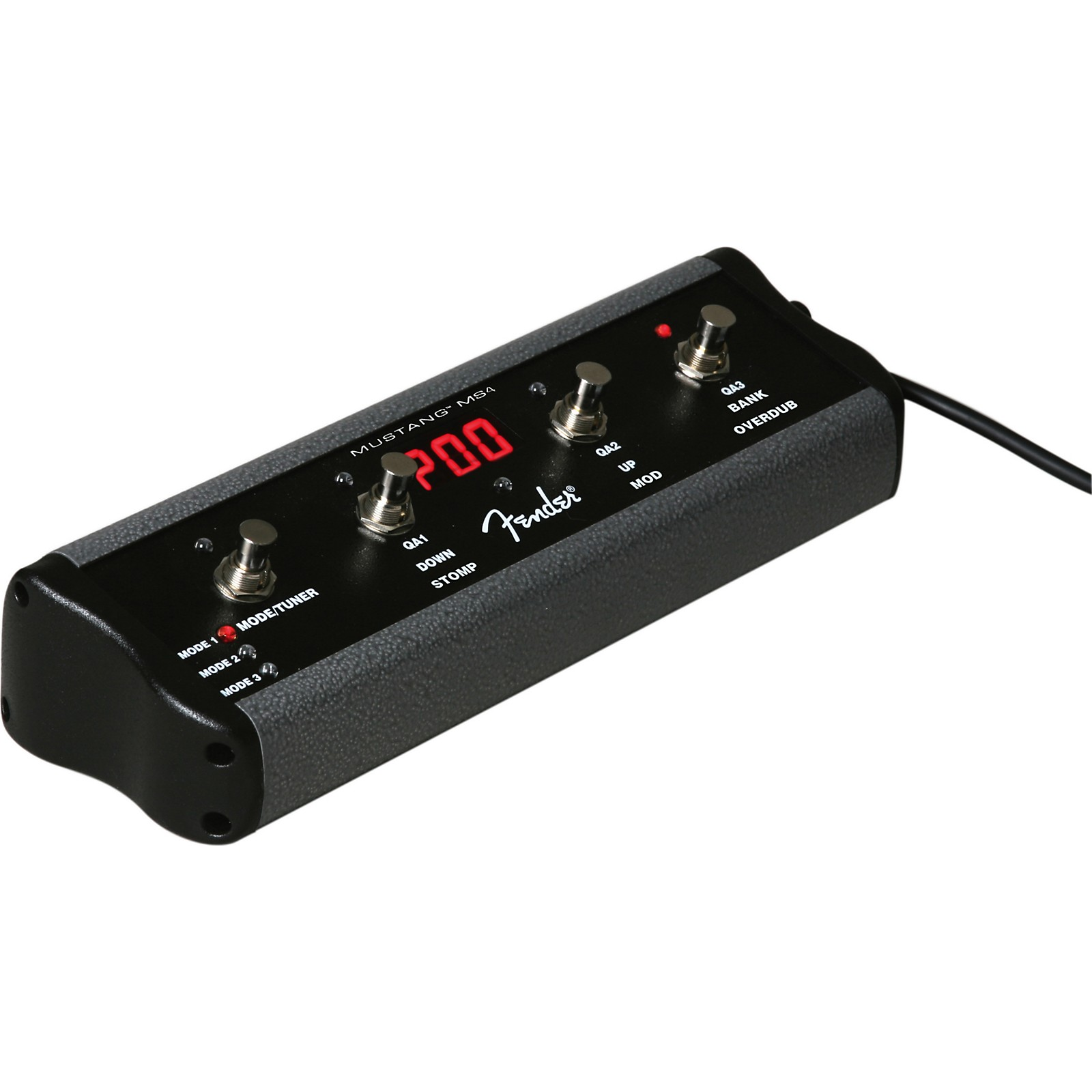Open Box Fender 4-Button Footswitch for Mustang Amps