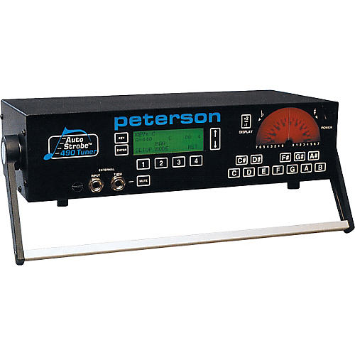 Open Box Peterson 490 8-Octave AutoStrobe Tuner